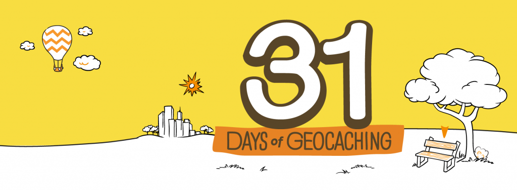 31 Days of Geocaching - August 2013